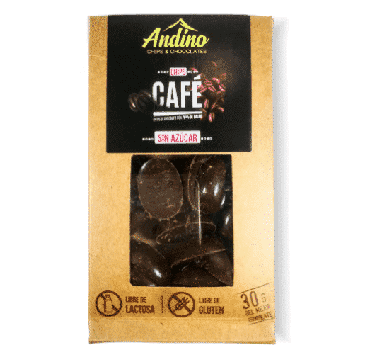 Chips Cafe Chocolate andino